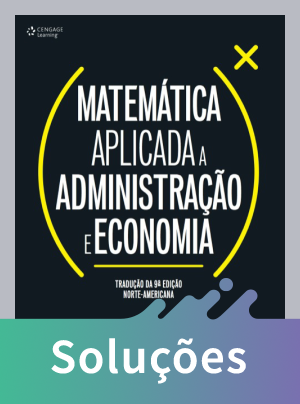 Matemática Aplicada A Administração e Economia