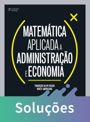 Matemática Aplicada A Administração e Economia
